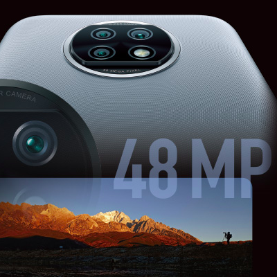 約4800万画素のAIトリプルカメラでプロ並みの写真に